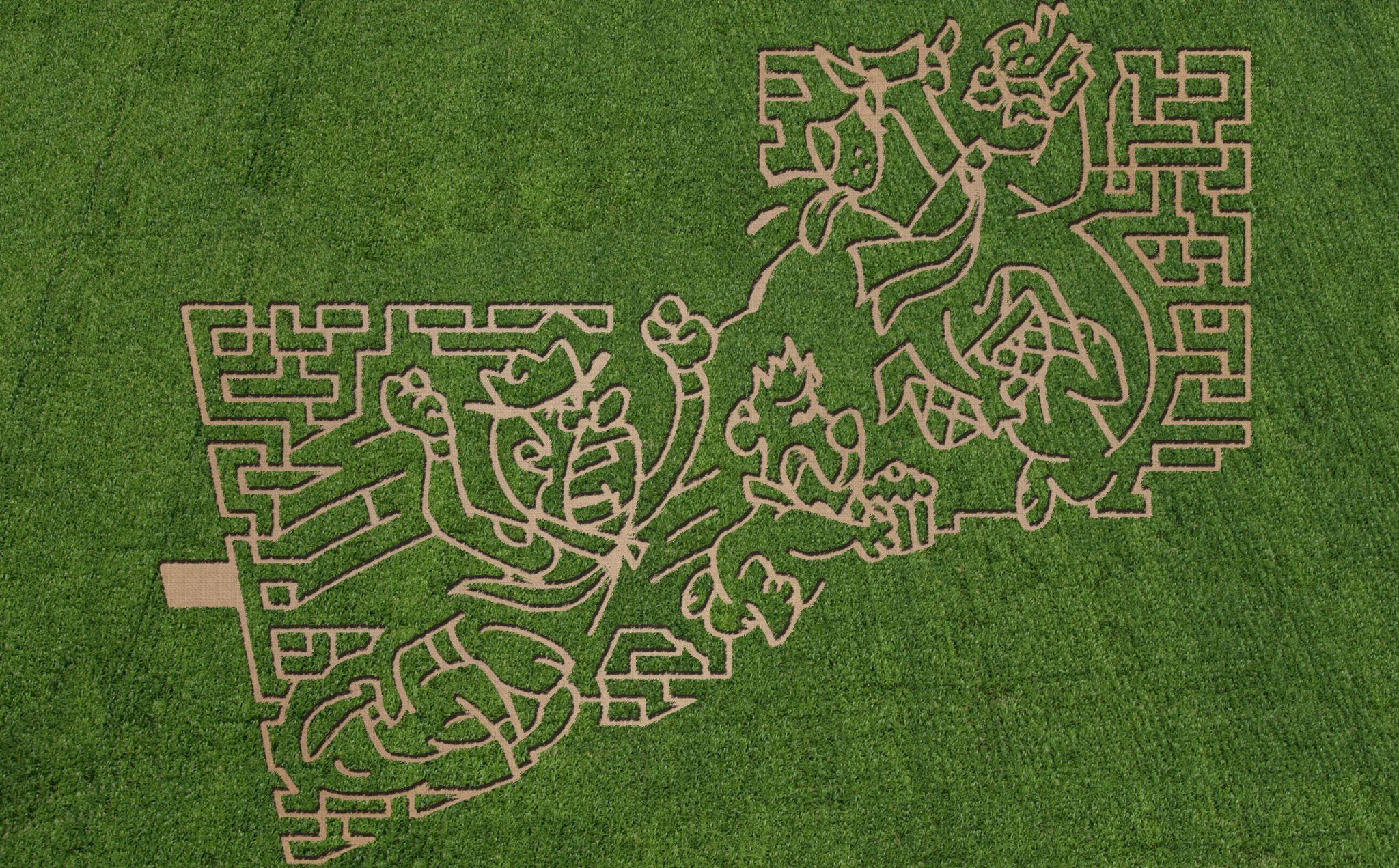 Corn Maze Sioux Falls SD